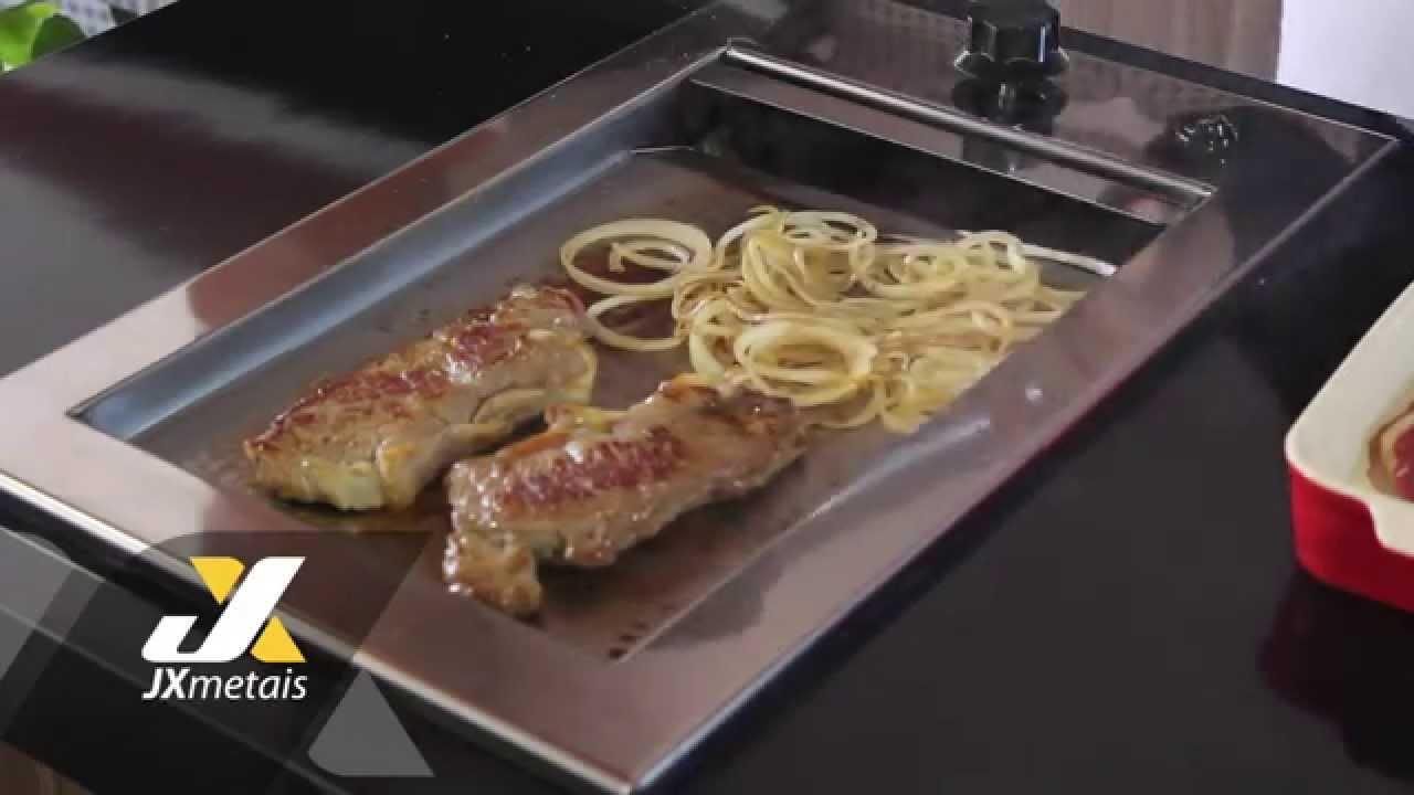 Chapa De Lanche Jx Projeto Gourmet