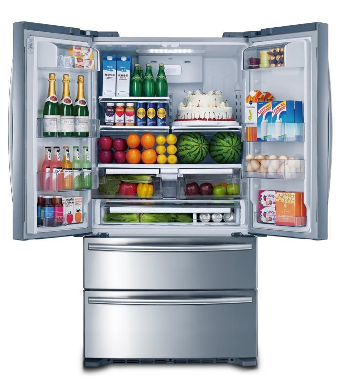 Refrigerador French Door Crissair Projeto Gourmet